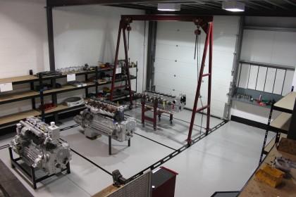 Engine Build Area